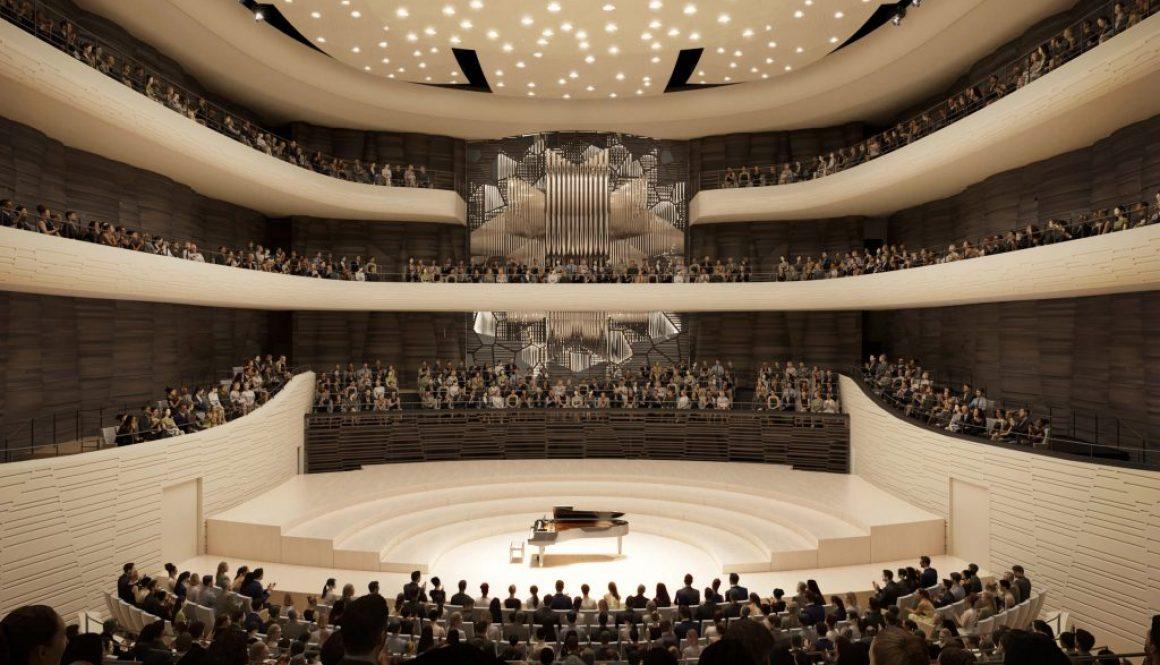 Vizualizace budoucího Janáčkova kulturního centra